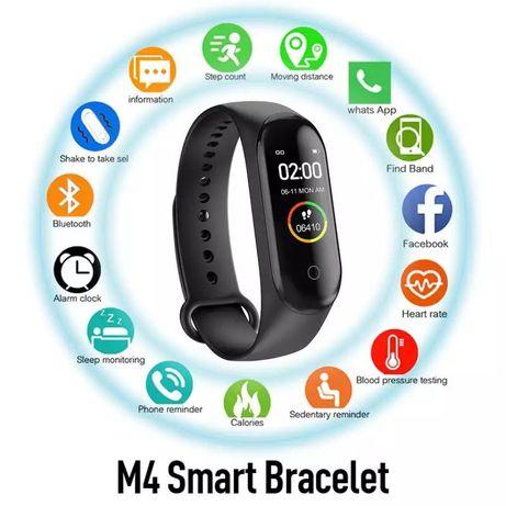 Smartwatch M4 (disponivel na cor preta ou rosa)