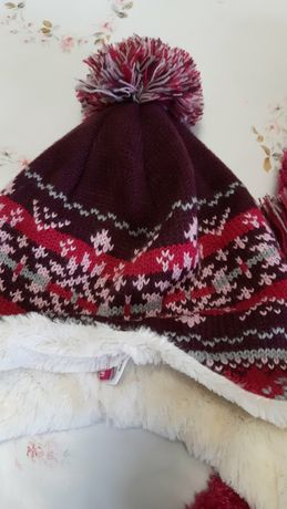 Шапка,  шарф та рукавички