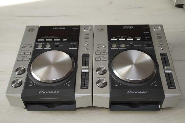 2 x Pioneer CDJ 200 Idealne Gwarancja Skup Zamiana 100/350/500/600/700