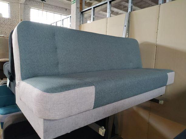 Sofa -kanapa -wersalka FINKA. Rozkładana, sprężynowa z pojemnikiem.