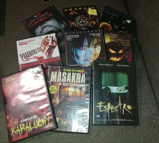 Zestaw 9 filmów DVD/Horror/wykopki