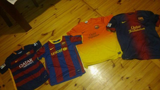 koszulka koszulki FC Barcelona dziecięca nastolatek
