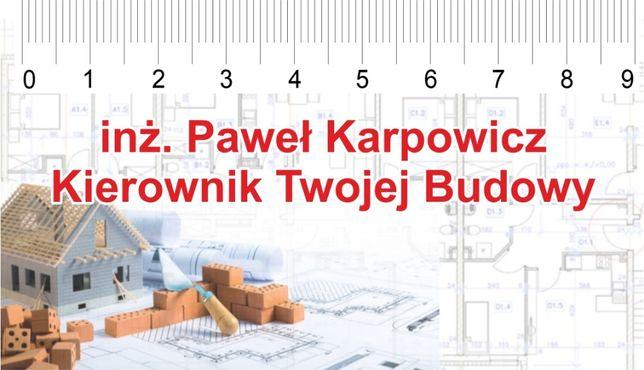 Przeglądy okresowe budynków Kierownik Budowy Inspektor Nadzoru
