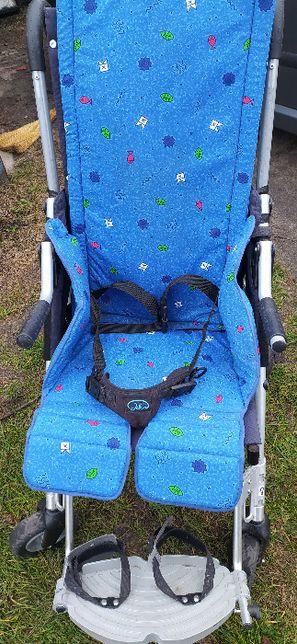 Wózek rehabilitacyjny Otto Bock Lisa 2 dla dziecka niepełnosprawnego