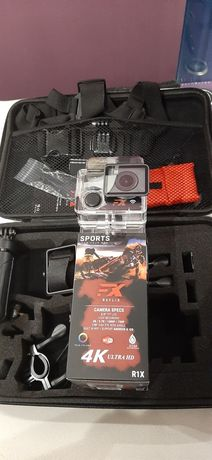 Kamera 4K FX R1X karta 64 PRO Platinet torba i full akcesoria polecam