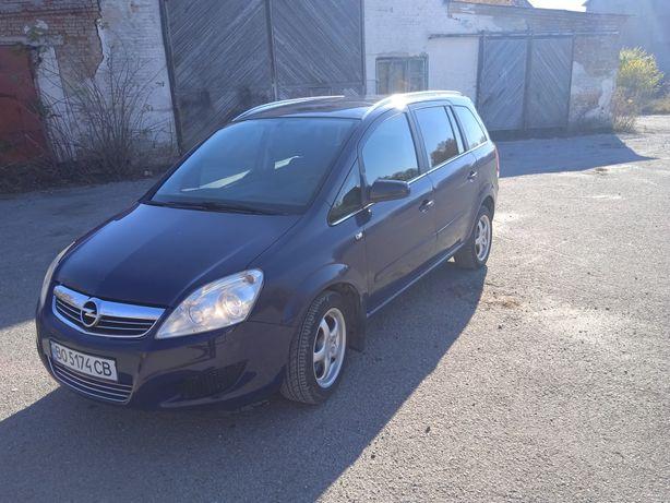 Opel Zafira 1.6 газ/бензин