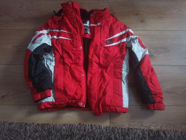 kurtka dziecięca narciarska brugi 134