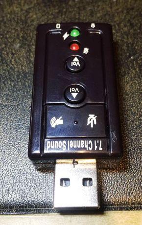 Звукова карта-адаптер USB 2.0