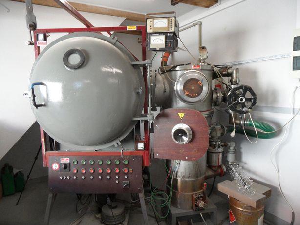 Napylarka próżniowa kompletna ( metalizacja)
