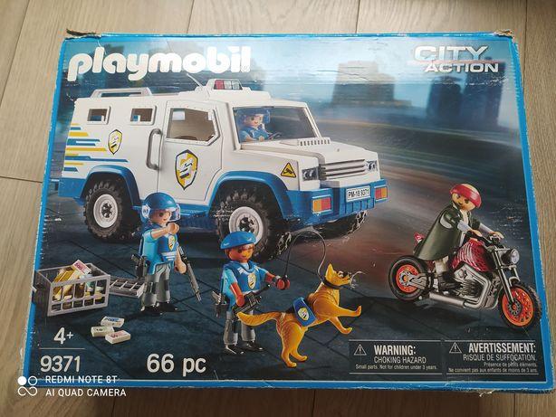 Playmobil Transporter pieniędzy 9371 City Action jednostka specjalna