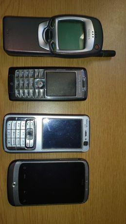 Telemóveis: NOKIA 7110 / Sony Ericsson T630 / NOKIA N73 / hTC WildFire