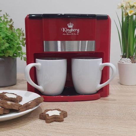 Автоматическая кофемашина на две чашки Кофеварка с чашками