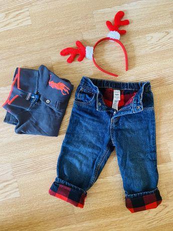 костюм: джинсы catrers + polo