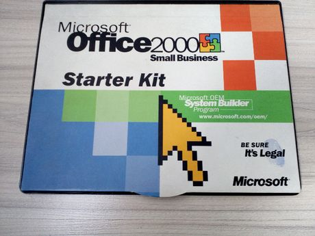 MS Office 2000 Small Business + Marketing Starter Kit