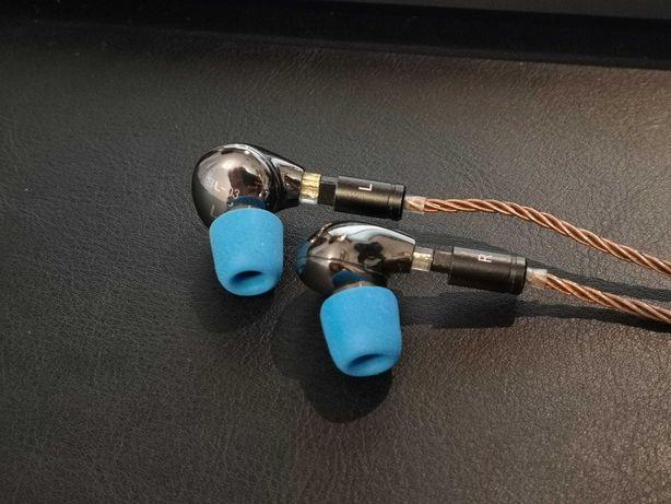 Słuchawki BLON BL-03 BL03 10mm + kabel  8 core IEM monitory
