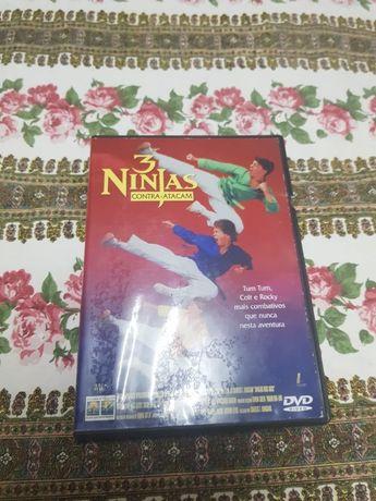 DVD 3 Ninjas Contra Atacam