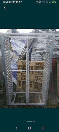 carrinhos tabuleiros inox e alumínio usados