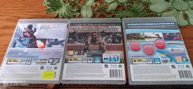 Gry na PS 3 30zl