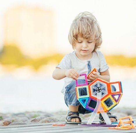 Магнитный конструктор Genius Magnetic Block (60 деталей)