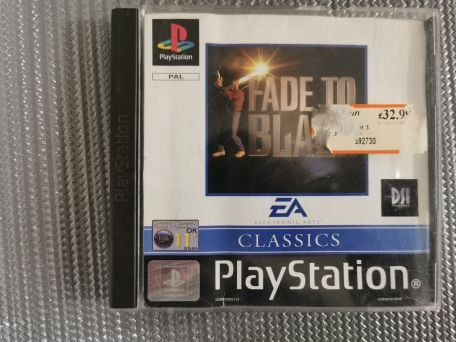 Fade to Black PS1 PSX PSONE