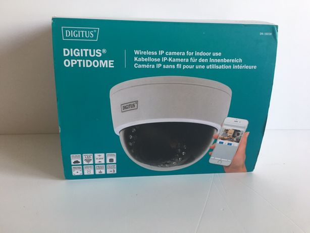 DIGITUS IP DN 16038 PLug View, Kamera wewnętrzna