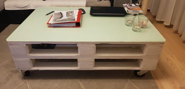Stół ława z palet 80 x 120