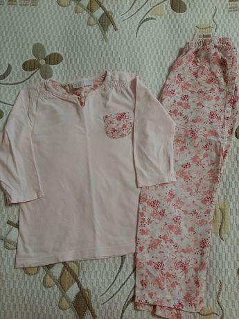 Пижама Зара на рост 116 см, и Смил на 6- 7 л