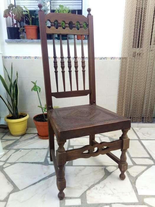 Cadeira de madeira Baleizão - imagem 1