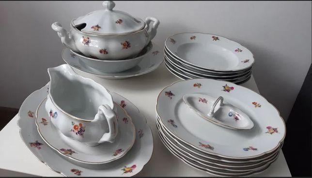 """Serwis obiadowy """"520"""" porcelana Ćmielów"""