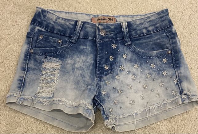 Шорти джинсові 9 - 12 р