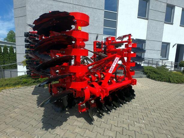 Brona talerzowa 4m / 4.0 m BATYRA hydraulicznie składana