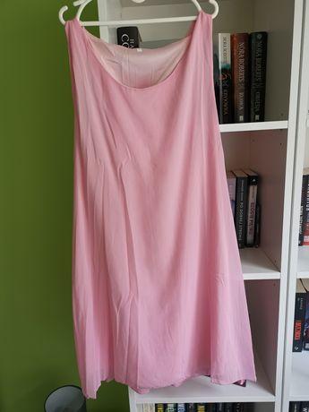 Różowa sukienka, nowa