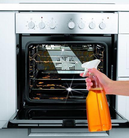 Zestaw koncentrat, płyn do czyszczenia pomarańczowy