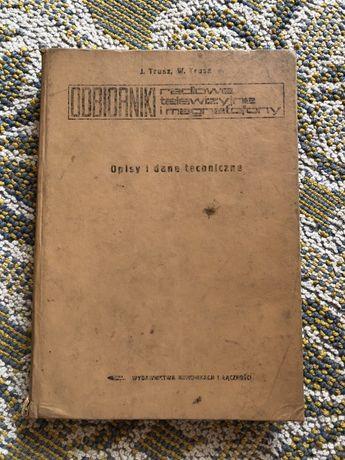 Książka Odbiornki radiowe, telewizyjne i magnetofony