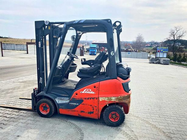 Wózek widłowy LINDE H14T-01 LPG 1400kg 3.20m 2016' still toyota nissan