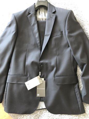 NOWY garnitur RECMAN platinum seewil 188/100/90 taliowany