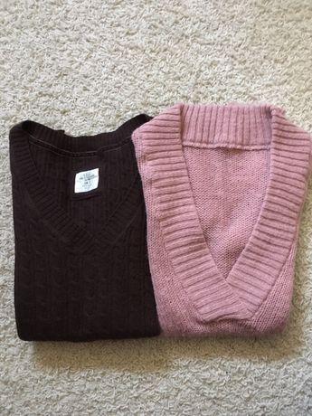 Sweter wełniany H&M_S + inny