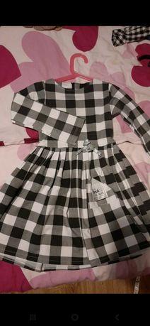 Sukienka w krate