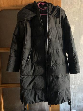 Пуховик, парка, пальто, зима, Zara