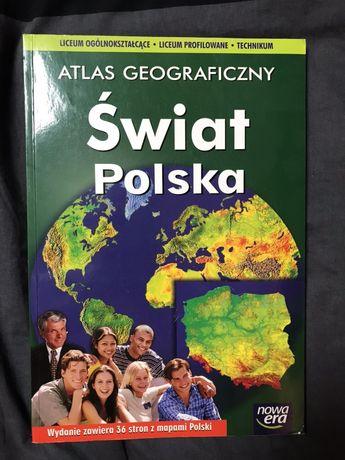 Atlas Geograficzny Świat i Polska