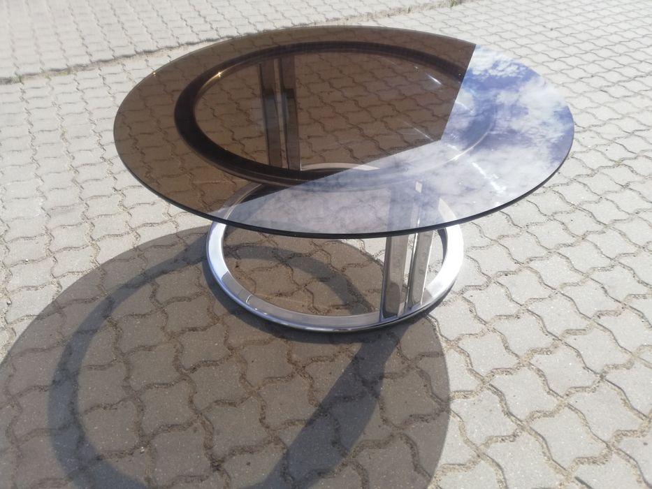 Ława  okrągła z szybą Inowrocław - image 1