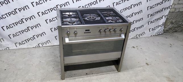 Профессиональная газовая плита с електродуховкой Oranier