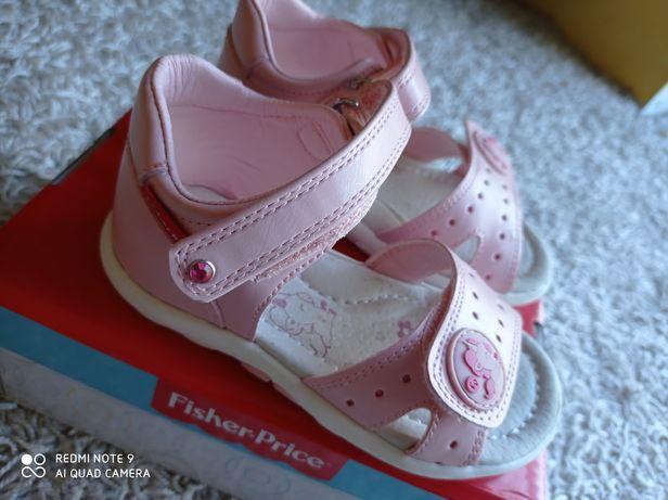 Sandały dziewczęce r.23 Fischer Price