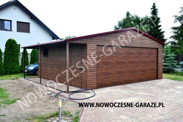 Nowoczesne Garaże z bramą SEGMENTOWĄ