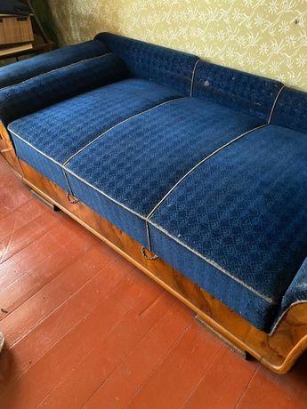 Sofa antyk i dwa fotele zestaw