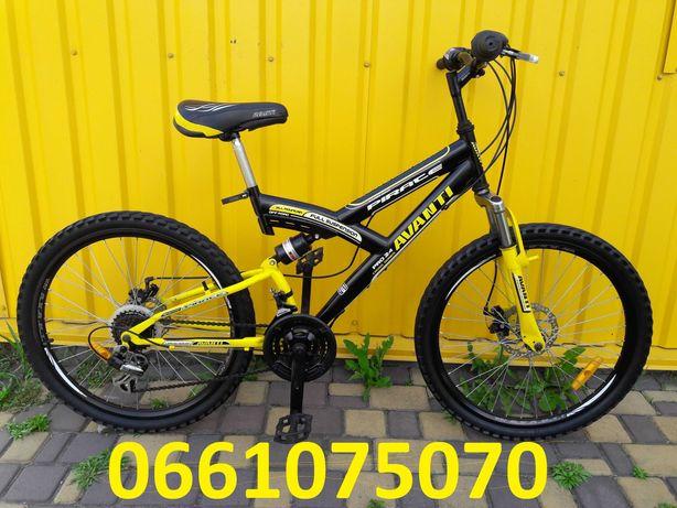Велосипед Avanti 24, диск тормоз
