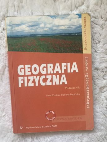 Sprzedam podręcznik Geografia fizyczna