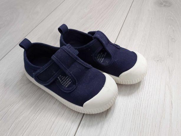Buty z bawełnianego płótna