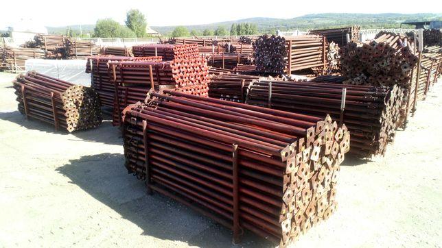 Stemple budowlane Podpory używane Dźwigar H20 Głowica TRANSPORT Tanio