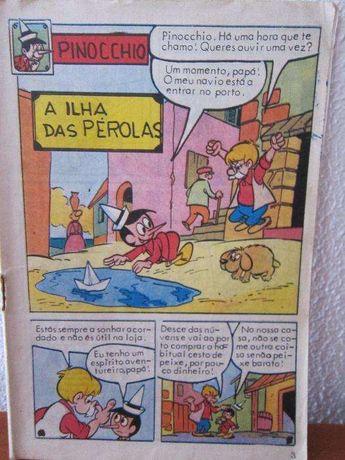 Pinocchio - A Ilha das Pérolas BD